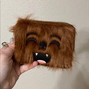 Loungefly zip around Chewbacca wallet